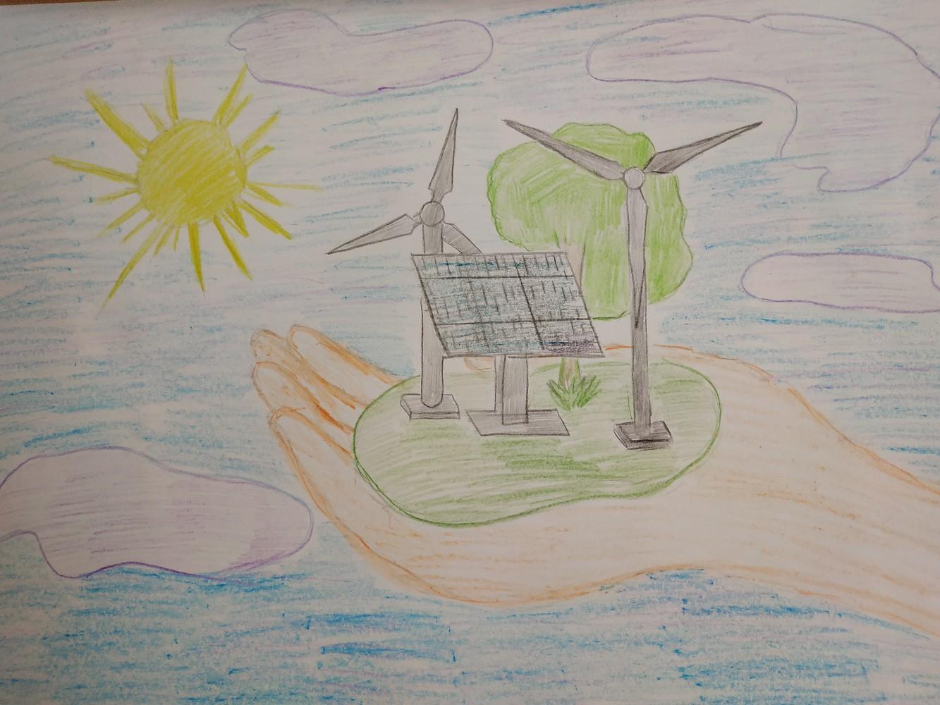 Рисунки на тему наука спасает планету